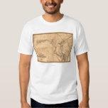 MarylandPanoramic MapMaryland T-Shirt