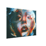 """Marylin..."", ArteKaos Wrapped Canvas Print"