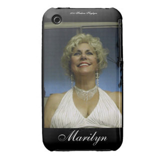 MARYLIN IN WHITE DRESS iPhone 3 CASE