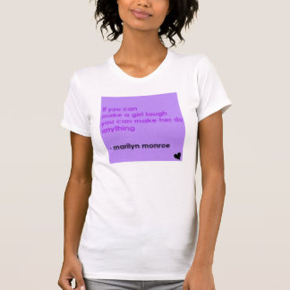 Marylin Monroe Quote Tank