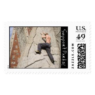 Marymoor climbing rock postage