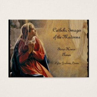 Mary's Annunciation Business Card