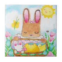 Mary's Easter Basket tile