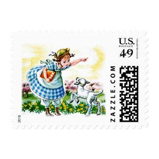 Mary's Lamb Postage