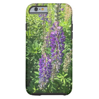 Mary's Lupines at the Farm - Frost Hill Farms Tough iPhone 6 Case