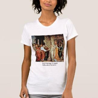 Mary'S Marriage To Joseph By Beccafumi Domenico Shirt