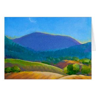 Marys Peak Greeting Card