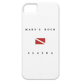 Marys Rock Alaska Scuba Dive Flag iPhone 5 Cases