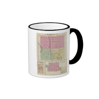 Marysville Bigelow y Axtell Kansas Tazas De Café