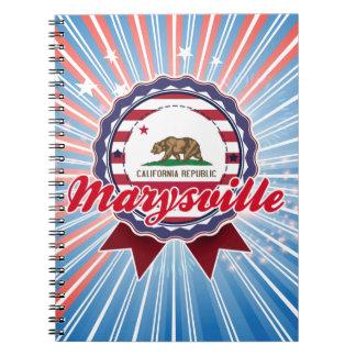 Marysville CA Libreta Espiral