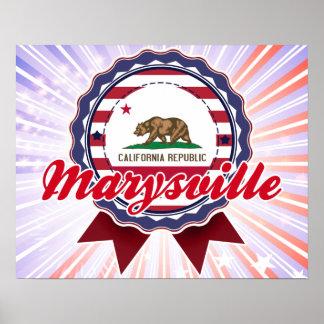 Marysville, CA Impresiones
