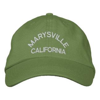 MARYSVILLE, CALIFORNIA GORRA DE BEISBOL BORDADA