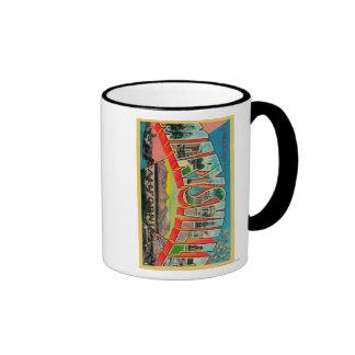 Marysville, California - Large Letter Scenes Ringer Mug