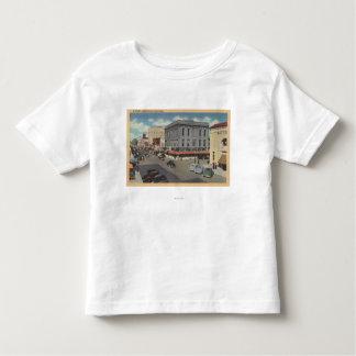 Marysville, California Town View of D Street Toddler T-shirt