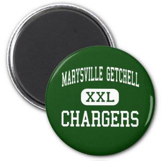 Marysville Getchell - Chargers - High - Marysville 2 Inch Round Magnet