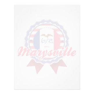 Marysville IA Membrete A Diseño