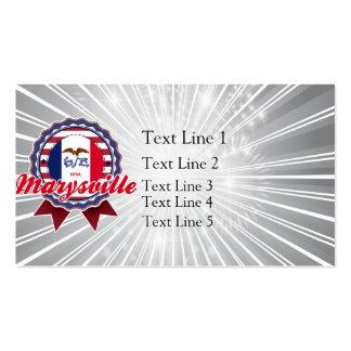 Marysville IA Tarjeta Personal