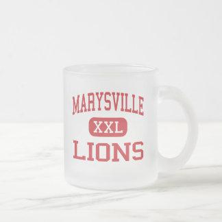 Marysville - Lions - Middle - Marysville Ohio Mugs
