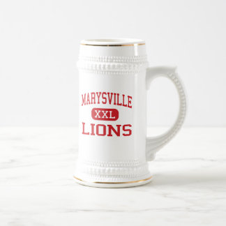 Marysville - Lions - Middle - Marysville Ohio Coffee Mugs