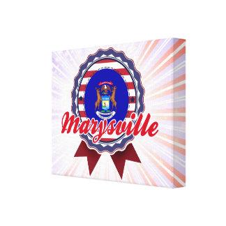 Marysville, MI Impresión En Lona