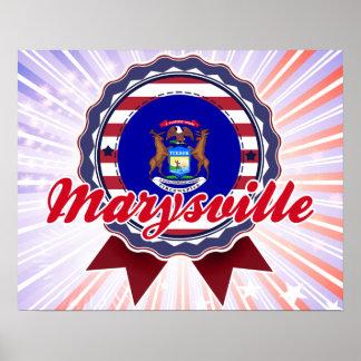 Marysville, MI Poster