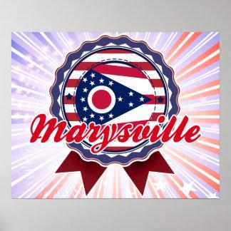Marysville, OH Poster