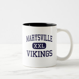 Marysville - Vikings - High - Marysville Michigan Coffee Mugs