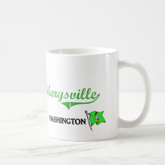 Marysville Washington City Classic Classic White Coffee Mug