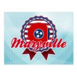 Maryville, TN Tarjeta Postal