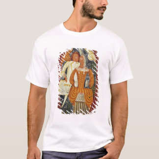Marzipan box depicting a man and woman, c.1660 T-Shirt