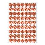 Marzipan cherries in heart basket photo print