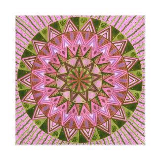 Marzipan Mandala Canvas Print