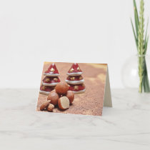 Marzipan Trees Holiday Card