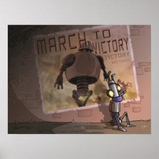 Marzo a la victoria póster
