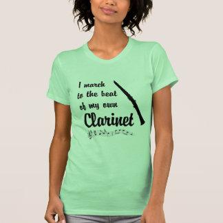 Marzo al golpe: Clarinet Camiseta