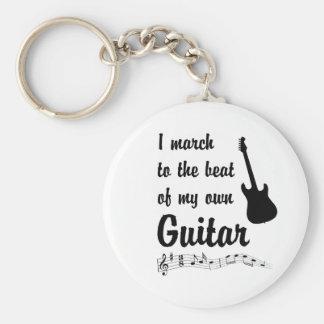 Marzo al golpe: Guitarra Llavero