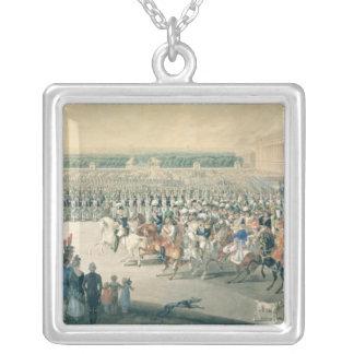 Marzo de las fuerzas aliadas en París, 1815 Colgante Cuadrado