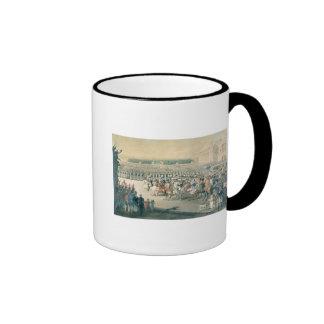 Marzo de las fuerzas aliadas en París, 1815 Taza De Dos Colores