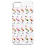 Marzo de los flamencos tropicales iPhone 5 Case-Mate cárcasas