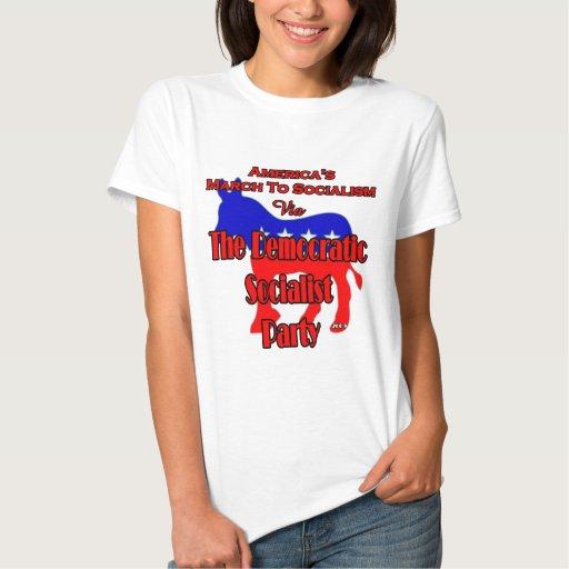 Marzo Democratic al socialismo T Shirt