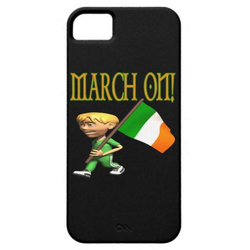 Marzo encendido funda para iPhone 5 barely there