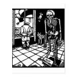 Marzos de la muerte de Totentanz por la postal