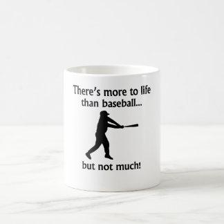 Más a la vida que béisbol taza mágica