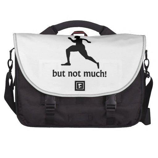 Más a la vida que corriendo bolsas de portátil
