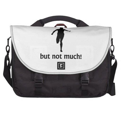 Más a la vida que corriendo bolsas para portatil