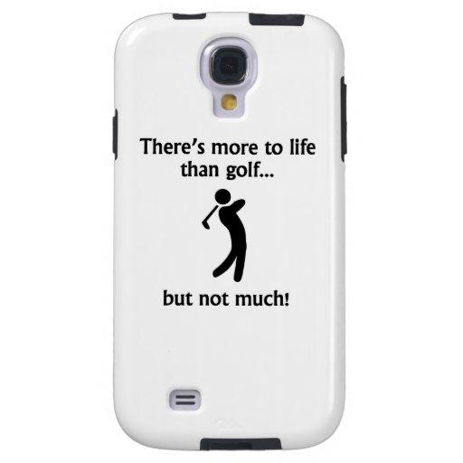 Más a la vida que golf funda para galaxy s4