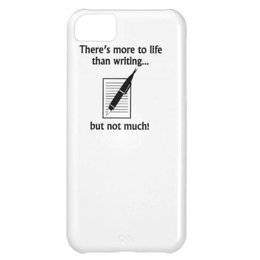 Más a la vida que la escritura funda para iPhone 5C