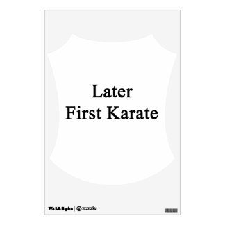 Más adelante primer karate