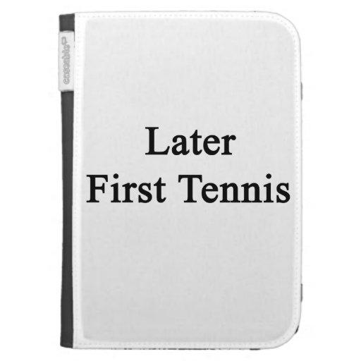 Más adelante primer tenis