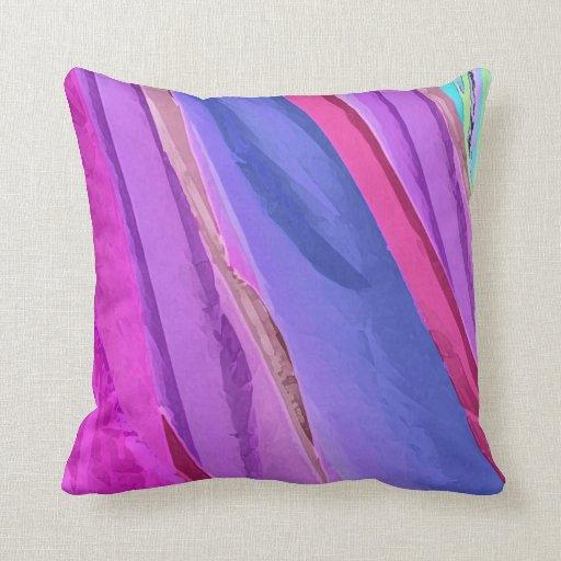 Más allá de la almohada de tiro en colores pastel